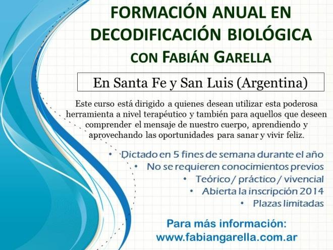 Cursos de formación anual 2014