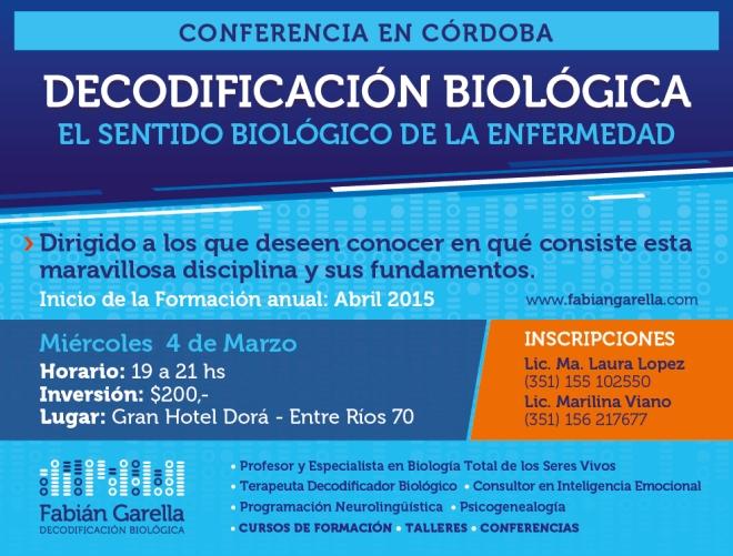 Conferencia Córdoba Marzo